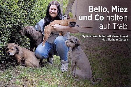15. Mai 2019   Wochenspiegel Zossen   Bello, Miez und Co halten auf Trab
