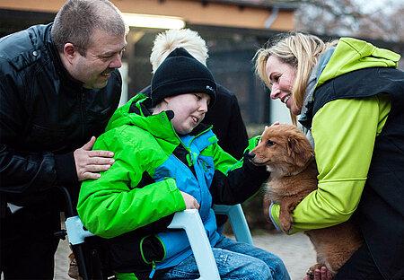 Maurice möchte später Tierpfleger werden