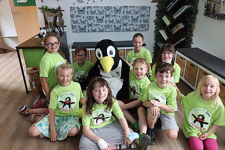 Pingi – Das aktion tier- Pinguinmaskottchen