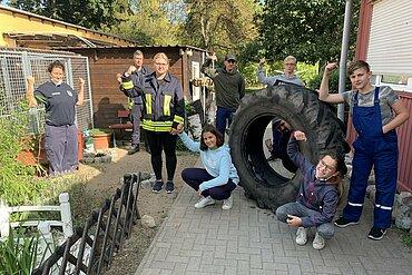 Team der Jugendfeuerwehr Schenkendorf-Krummensee